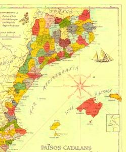 Territorio de los inexistentes Països Catalans donde la CUP y ERC desarrollan su actividad política.